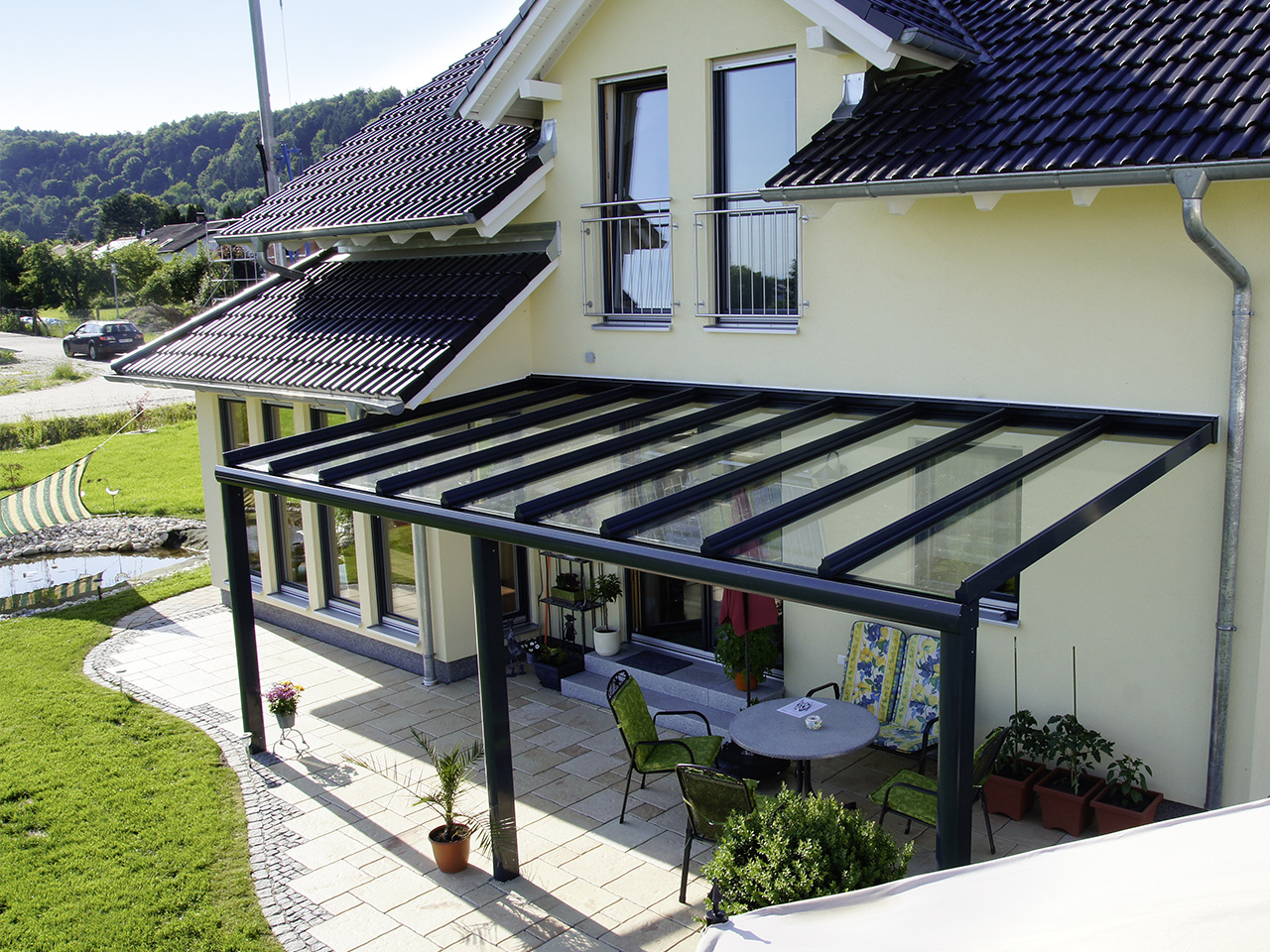 pergola vord cher sachs fenster mit herz. Black Bedroom Furniture Sets. Home Design Ideas